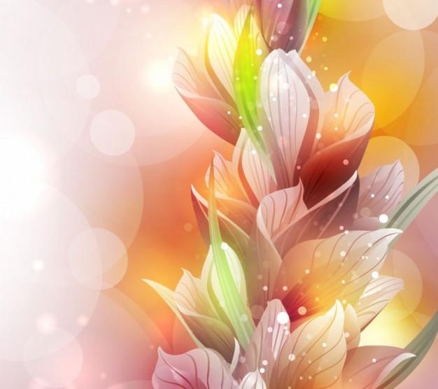 flor-de-lirio-de-primavera-de-vectores