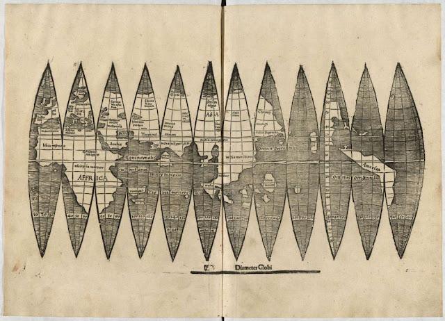 Hallan en Alemania un ejemplar del primer mapamundi con Amrica